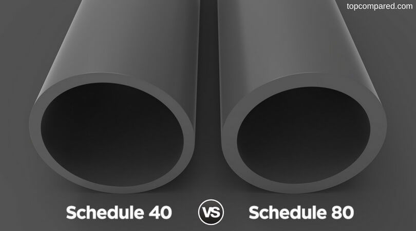 Schedule 40 Vs 80 & Schedule 40 Vs 80 - Which is the Best PVC Pipe? - Top Compared