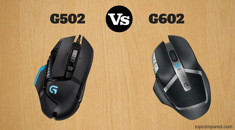 Logitech G502 Vs G602 - Compared and Reviewed