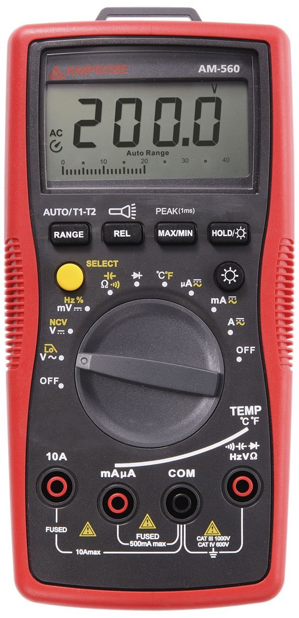 Amprobe AM-560 HVAC Digital Multimeter