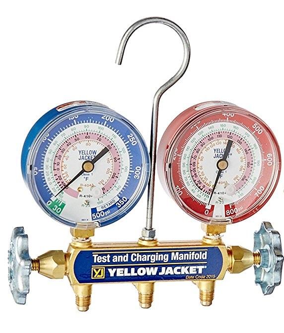 Yellow Jacket 42004 Series 41 Manifold