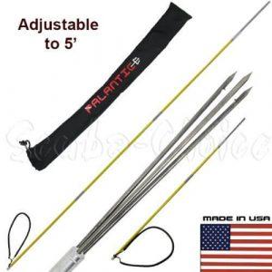Scuba Choice 7 feet Travel Spearfishing Pole