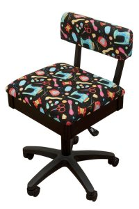 Arrow Height adjustable sewing chair