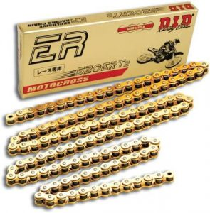 DID 520ERT2 – 120 link Gold Chain