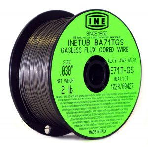INETUB BA71TGS Gasless flux wire