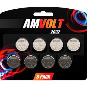 AmVolt Cr2032 battery