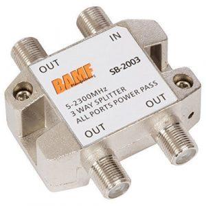 BAMF Manufacturing 3-way splitter