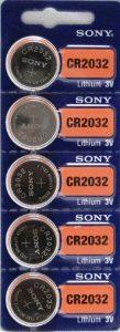 Sony 3V Lithium battery