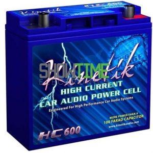 Kinetik HC600 Car Battery for Sound System