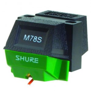 Shure M78S Wide Groove Monophonic cartridge
