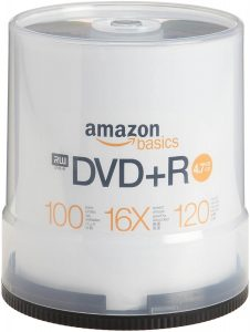 AmazonBasics 4.7 GB Blank CDs