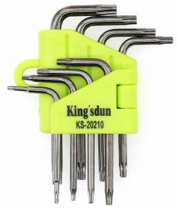 Kingsdun Small Torx Screwdriver Set