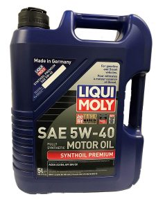 Liqui Moly 2041 Premium Synthetic Motor Oil