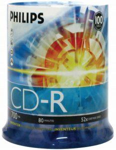 Philips D52N650 Blank CDs