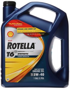 Shell Rotella (550019921) T6 Full Synthetic Oil