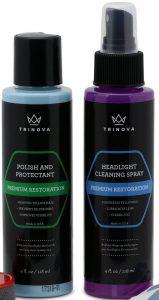 TriNova Headlight Restoration and Headlight Sealant Kit