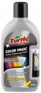 Turtle Wax Silver colored car polish