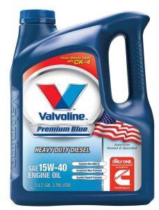 Valvoline VV70509 Premium Blue Motor Oil