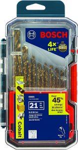 Bosch 21-Piece Cobalt Drill Bit