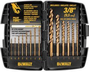 DEWALT DW1263 14-Piece Cobalt drill bit