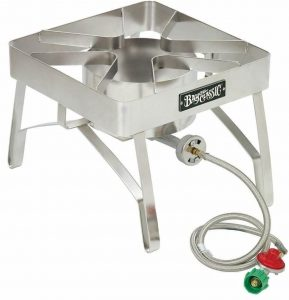 Bayou Classic SS84 Stainless Steel Burner