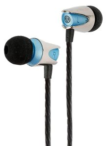 Audiophile in-ear earbuds with mic
