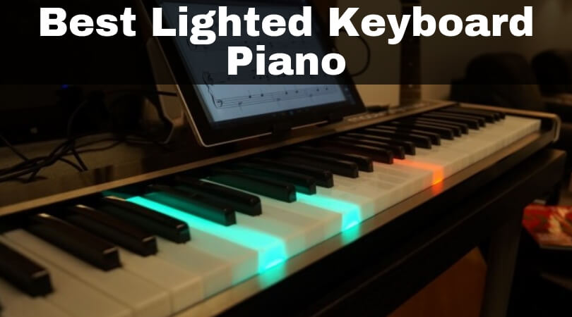 The Learn-To-Play Illuminated Keyboard - YouTube