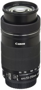 Canon EF-S 55-250mm lens