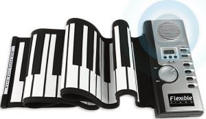 JouerNow RUP001 61 Thickened-Keys Roll up Piano