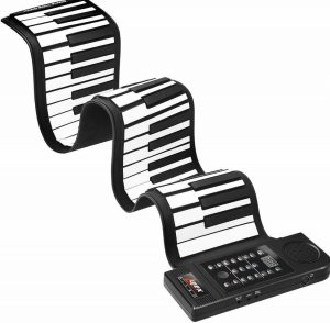 Lujex Upgrade Portable 61-Keys roll up piano