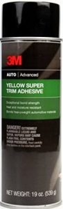 3M 08090 Super Yellow Trim Adhesive