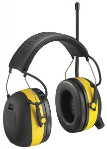 3M Worktunes with Hearing Protector
