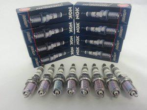 8 New NGK Iridium IX Spark Plugs