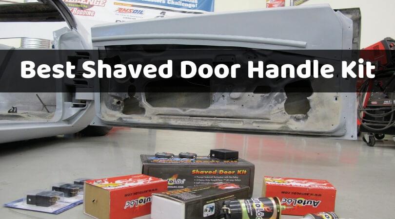 All shaved door handel kits assured, that