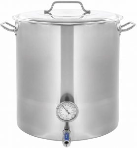 CONCORD Stainless Steel homebrew kettle