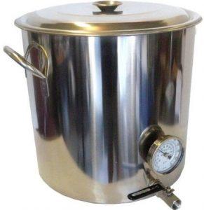 HomeBrewStuff Stainless steel 32 QT