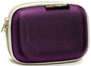 Navitech Purple Hard Camera Case