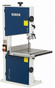 Rikon 10-305 bandsaw with a fence