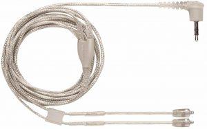 Shure EAC46CLS Clear Detachable Earphone Cables