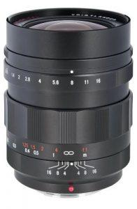 Voigtlander Nokton 17.5mm lens