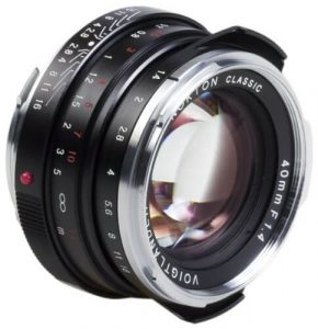 Voigtlander Nokton 40mm f1.4 Wide-angle Lens