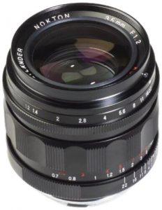 Voigtlander Nokton II ASPH Lens