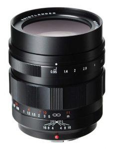 Voigtlander Nokton Micro Four Thirds Lens