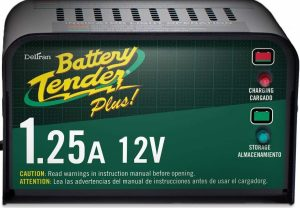 Battery Tender Plus 021-0128 Smart Charger