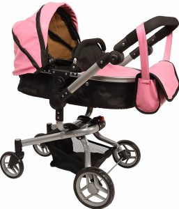 Mommy & me 2 in 1 Deluxe Doll stroller