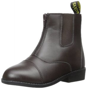 Saxon Women's Equileather Zip front boots