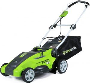 GreenWorks 25142 10-amp Corded Lawnmower