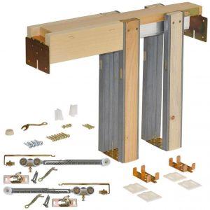 Johnson Hardware 1500 Soft Close Series Pocket door frame