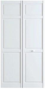 Snavely International 6-panel closet door primed white