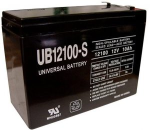 Universal Power Group 12V replacement battery