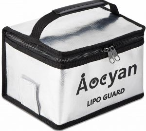 Aocyan Fireproof Lip Safe Bag